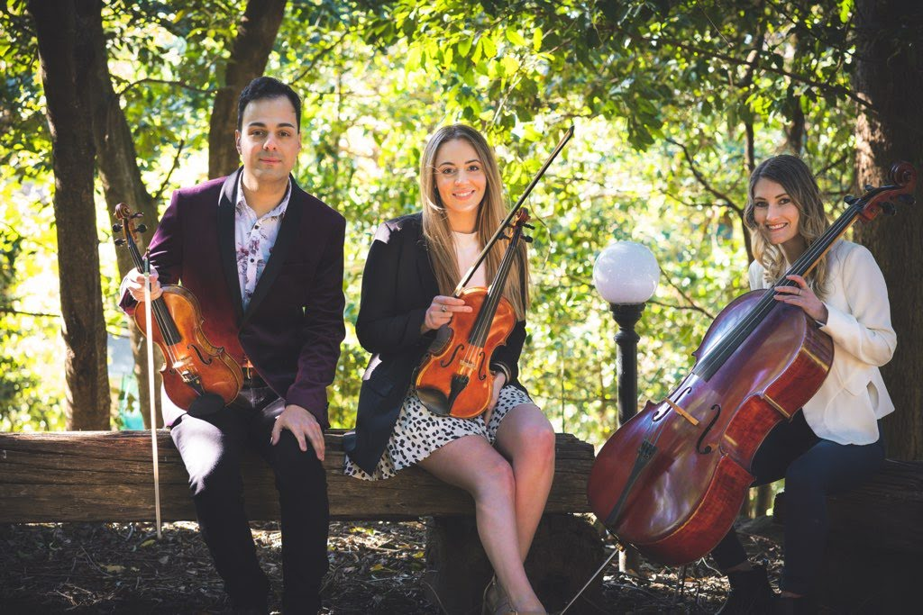 string trio hire wedding music